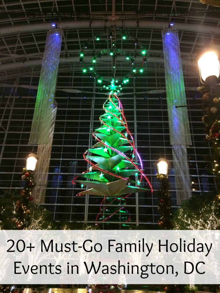 20+ Must-Go Family Holiday Events in Washington, DC