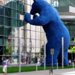 Public Art Sculptures Your Kids Will Love (Beans, Blue Bears + Trolls)
