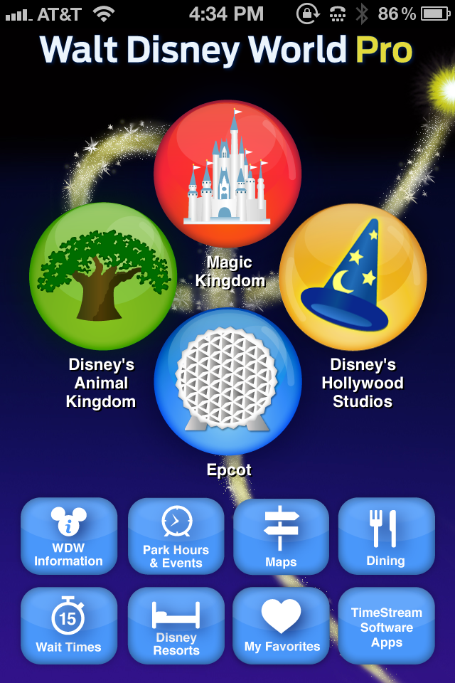 Review 3 iphone apps to help you navigate walt disney world walt disney world pro 399 this app got great reviews from usa today and appadvice so i had high expectations the app breaks out magic kingdom epcot gumiabroncs Images
