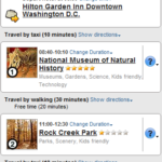 Using Plnnr to Quickly Create Your Vacation Itinerary