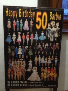 Happy 50th Birthday Barbie Poster