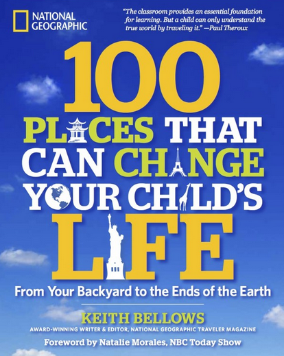 Giveaway: 100 Places That Can Change Your Child's Life