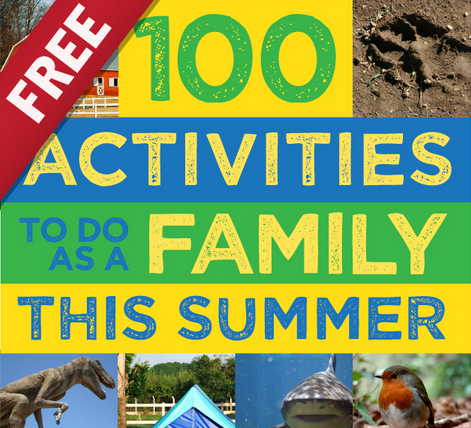 Free Ebook: 100 Activities to Do as a Family this Summer