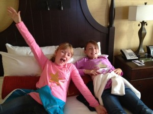 Kate & Clare at Hershey Lodge
