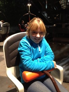 Kate on The Howler Ride