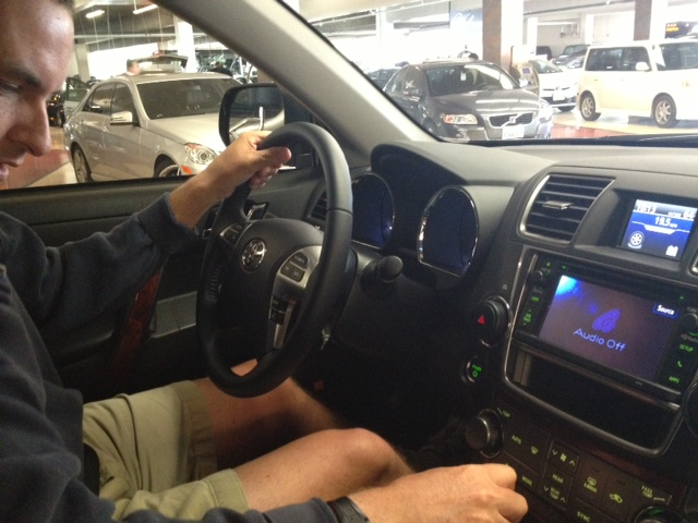 Mini-Road Trip in the Toyota Highlander