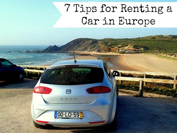 europe rental car