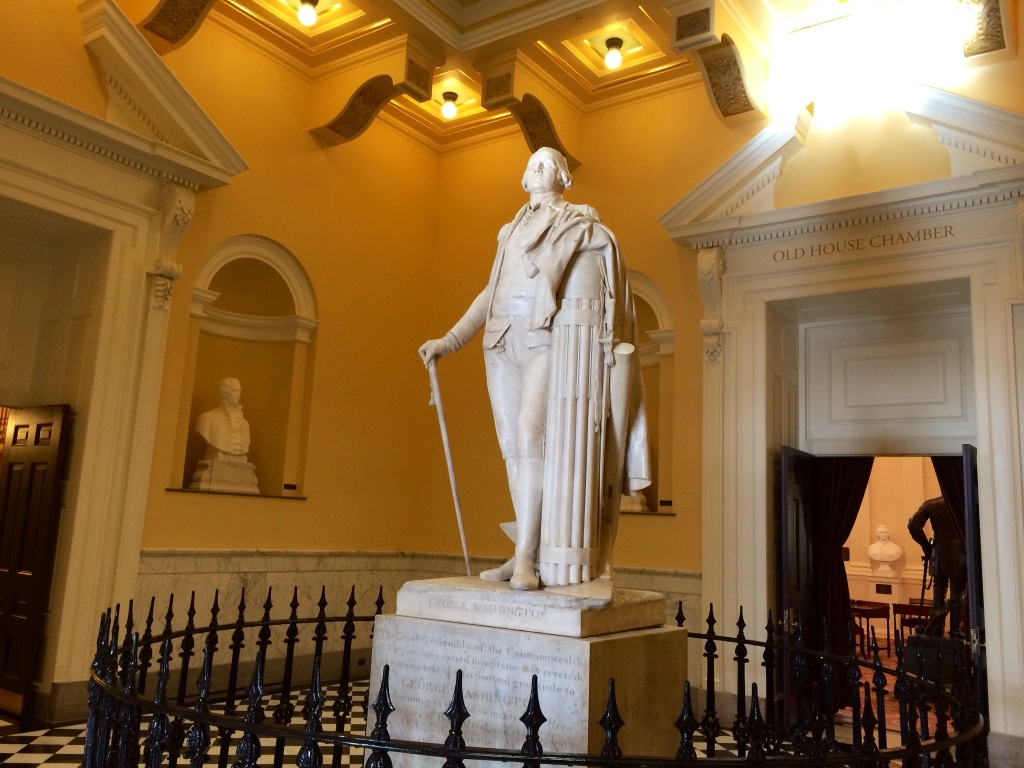 virginia state capitol-inside
