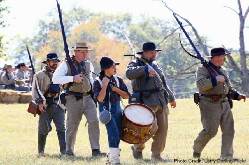 civil war re-enactment-franklin-tennessee
