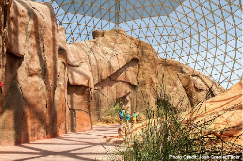 desert dome - henry doorly zoo - omaha nebraska