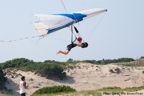 kitty hawk hang gliding