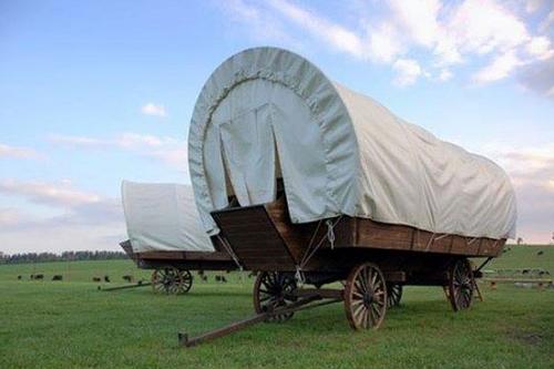 conestoga wagon the rock ranch