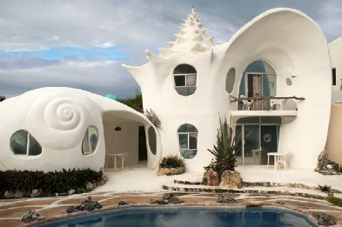 shell house mexico