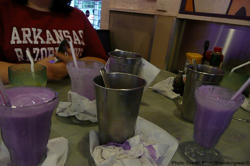 Arkansas-Purple Vanilla Milkshake