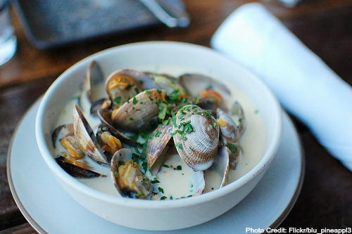 Massachusetts-Clam Chowder