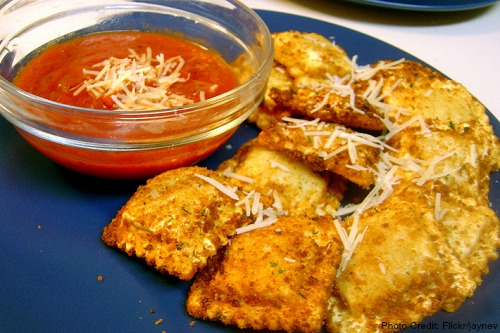 Missouri-Toasted Ravioli