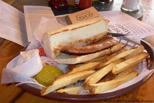 Nevada-Chorizo Sandwich