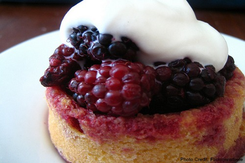 Oregon-Marionberry Shortcake