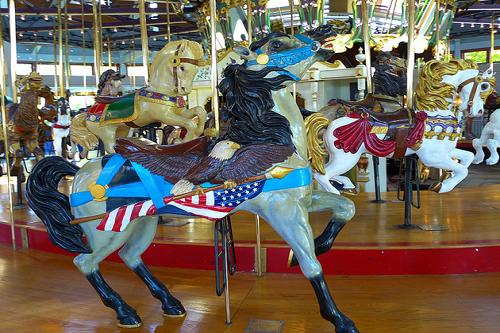 coolidge park carousel