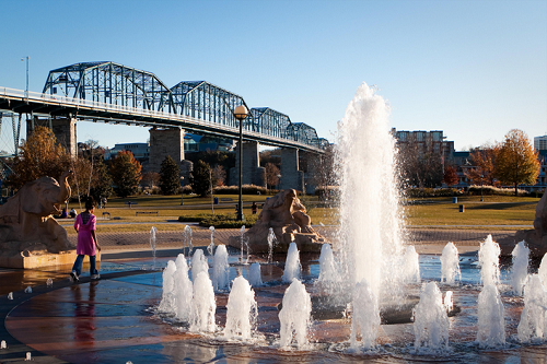 coolidge park fountains