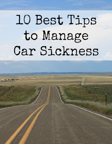Tips to Manage Car Sickness