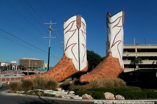 worlds largest cowboy boots
