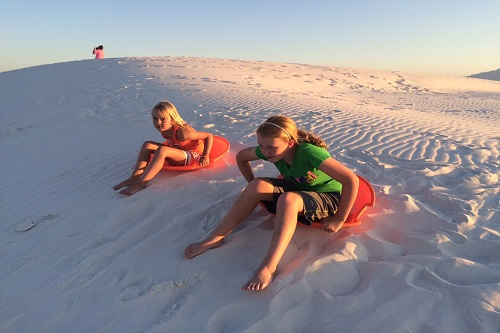 white sands sledding2