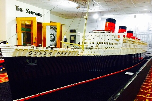 queen mary - lego model