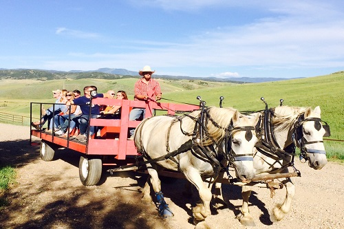 steamboat springs-saddleback ranch-wagon dinner ride