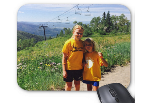 photo-girls mouse pad