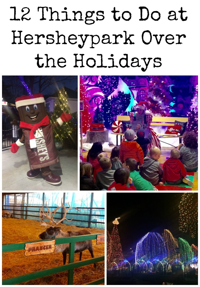 Holiday Fun: Hersheypark Christmas Candylane