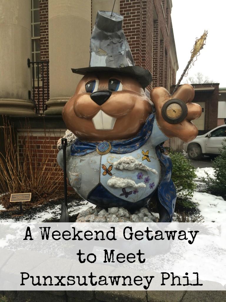 A Weekend Getaway to Meet Punxsutawney Phil