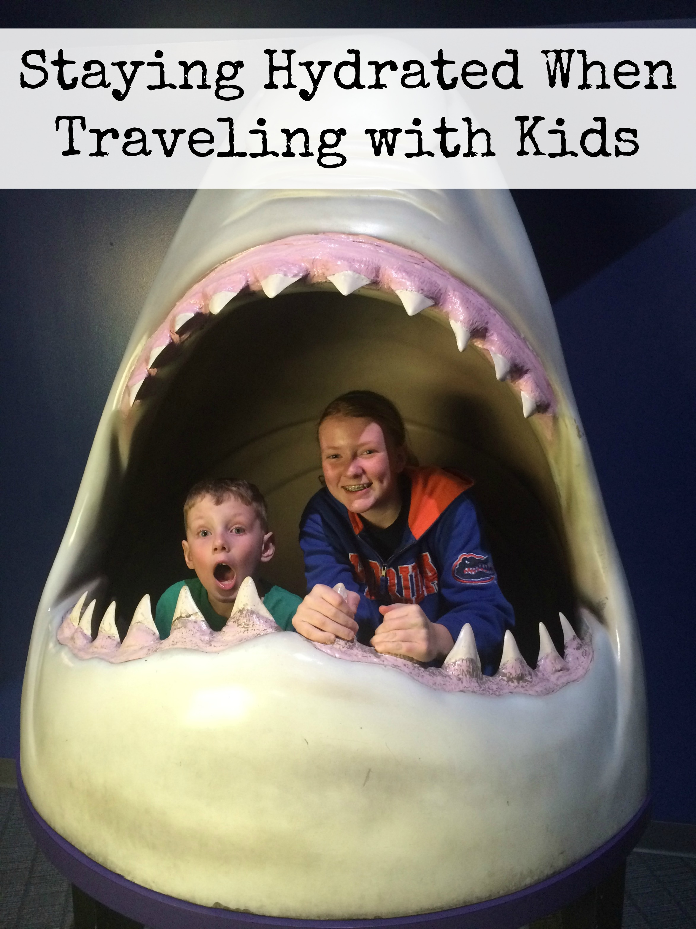 Staying Hydrated When Traveling with Kids