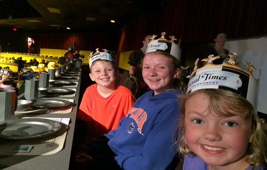The kids absolutely loved Medieval Times in Myrtle Beach.