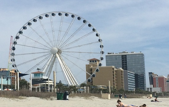 Riding the Myrtle Beach SkyWheel is a must too.