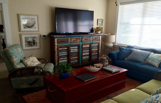 We loved this Galveston condo that we booked through FlipKey.