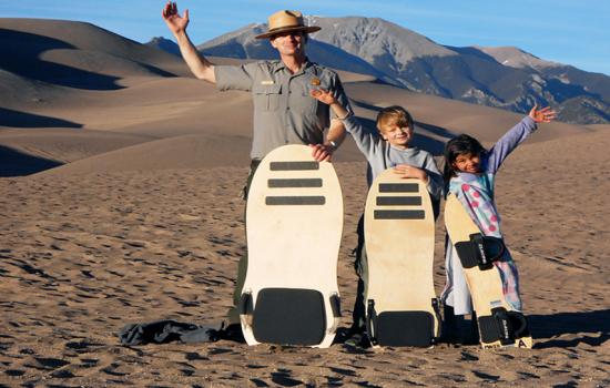 Where to Go Sledding on Sand Dunes
