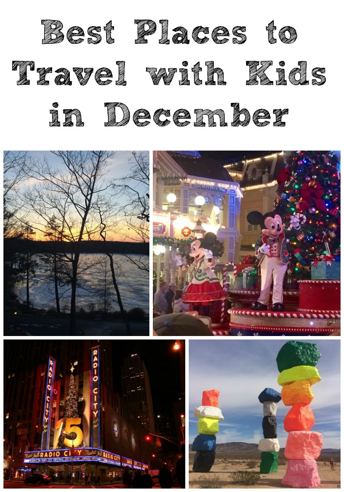 Best Places to Travel with Kids in December