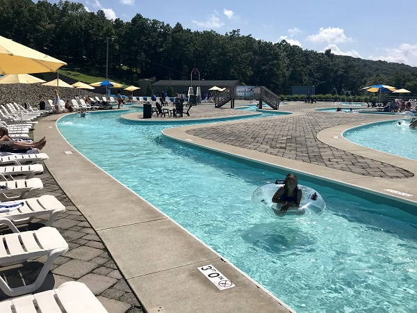 Lazy River at Montage Mountain Waterpark