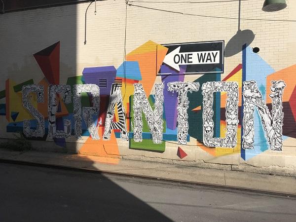 SCRANTON Mural-Northeast Art Project
