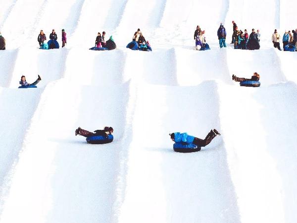 Snow Tubing at Montage Mountain in Scranton, PA
