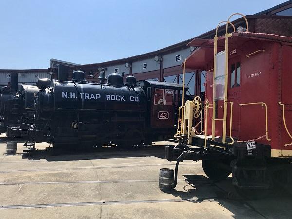 Steam Trains at Scranton's Steamtown National Historic Site