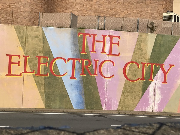 The Electric City Mural